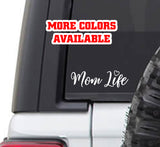 Mom Life Vinyl Sticker Decal - #momlife imomsohard