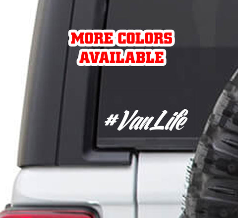 Van Life Vinyl Sticker Decal - #rvlife rving camping #vanlife