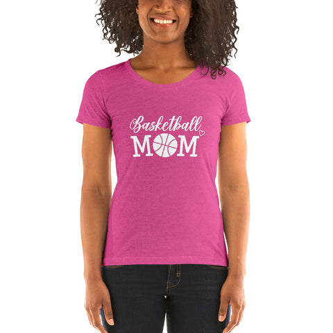 Basketball Mom T-Shirt | Sports Mom Shirt