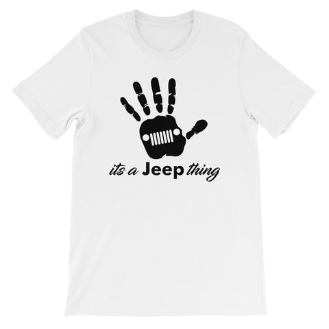 Jeep Wave It's a Jeep Thing T-Shirt - (S-4XL) | Jeep wave Jeeping it's a jeep thing moab