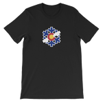 Colorado State Flag Snowflake T-Shirt - (S-4XL) | Snow Flake Colorado shirt