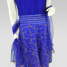 Load image into Gallery viewer, Gaun Style Blue Dress