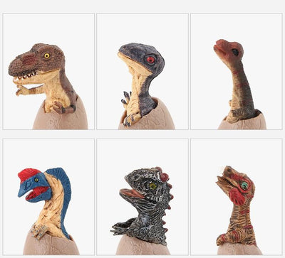 Lot de 12 mini-figurines de bébé dinosaures