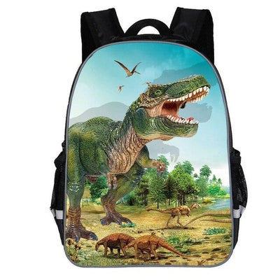 Cartable Dinosaure T-Rex qui domine