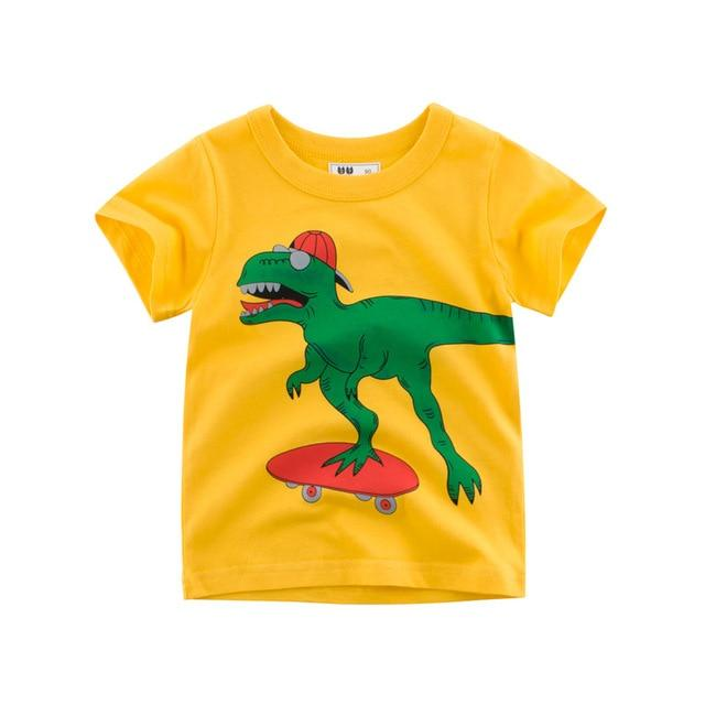 T-Shirt enfant cool Raptor en skate
