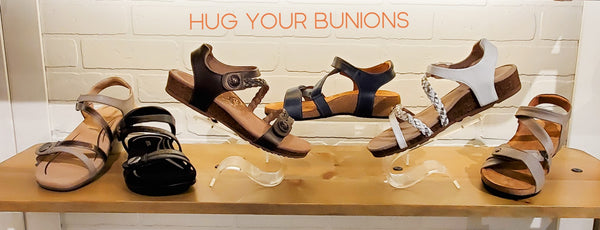 sandals that hug bunions