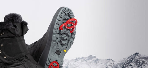 High Traction, Non-Slip Winter Boots