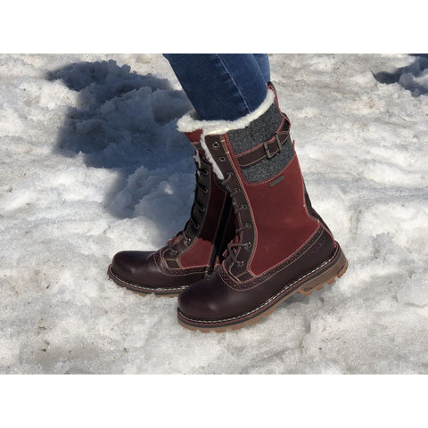 The Jenna High Traction Winter Boot, by Nexx at Danform Shoes