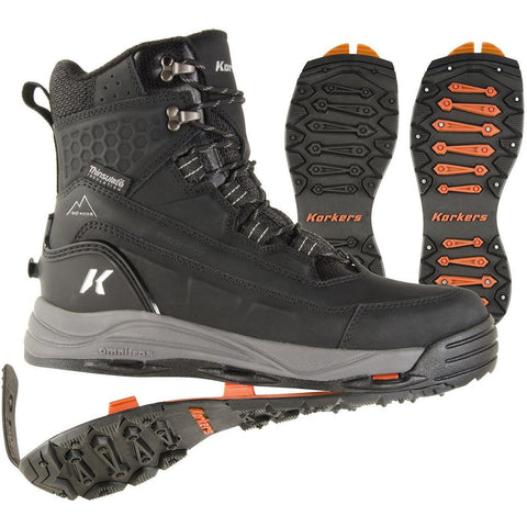Korkers High Traction Winter Boots, From Danform Shoes
