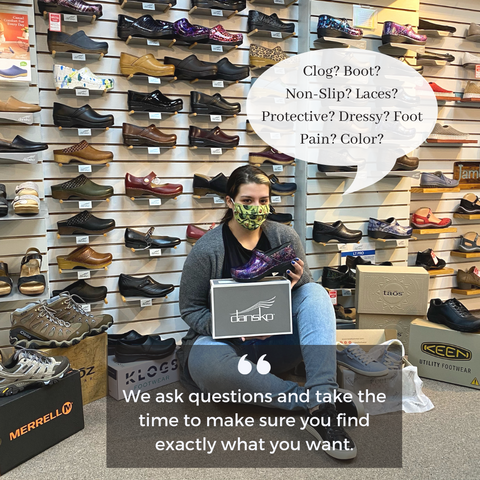 danform shoes ask questions to find the shoes you love