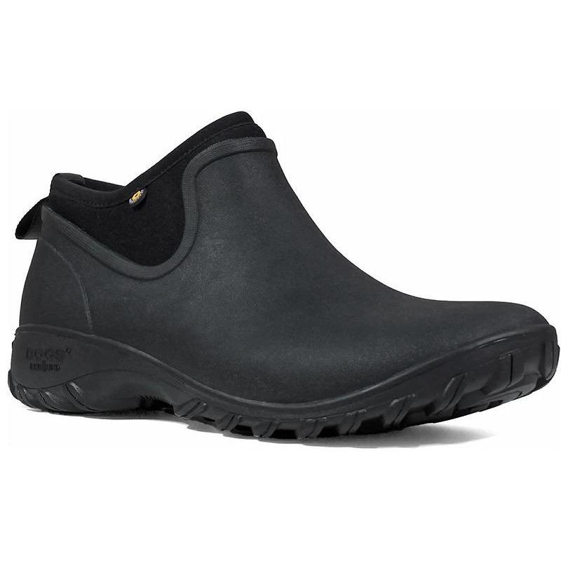 BOGS SAUVIE CHELSEA BLACK - danformshoesvt