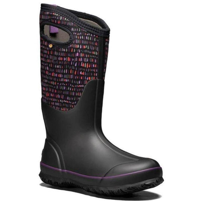 BOGS CLASSIC TALL TWINKLE WOMEN'S BLACK MULTI F20 - can't find fit/feedback yet 7/24 Boots Bogs