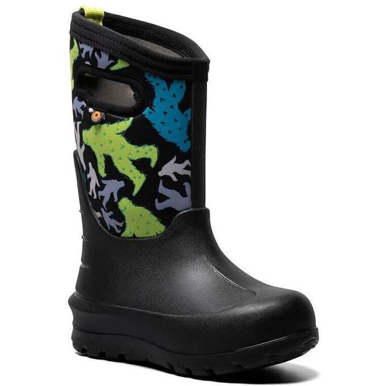 BOGS NEO CLASSIC BIGFOOT KIDS BLACK MULTI Boots Bogs