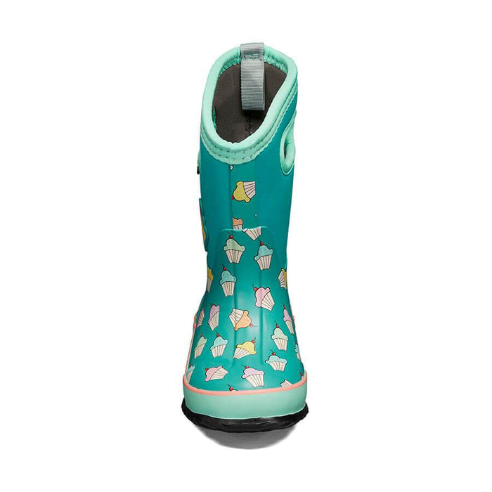BOGS CLASSIC CUPCAKES KIDS TEAL/MULTIF20 Boots Bogs