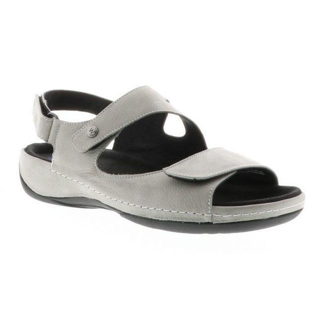 WOLKY LIANA SANDAL WOMEN'S LIGHT GRAY EXTRA WIDE Sandals Wolky