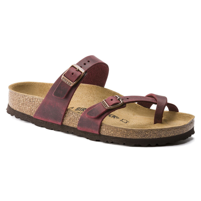 Birkenstock Mayari Zinfandel Oiled Leather - danformshoesvt