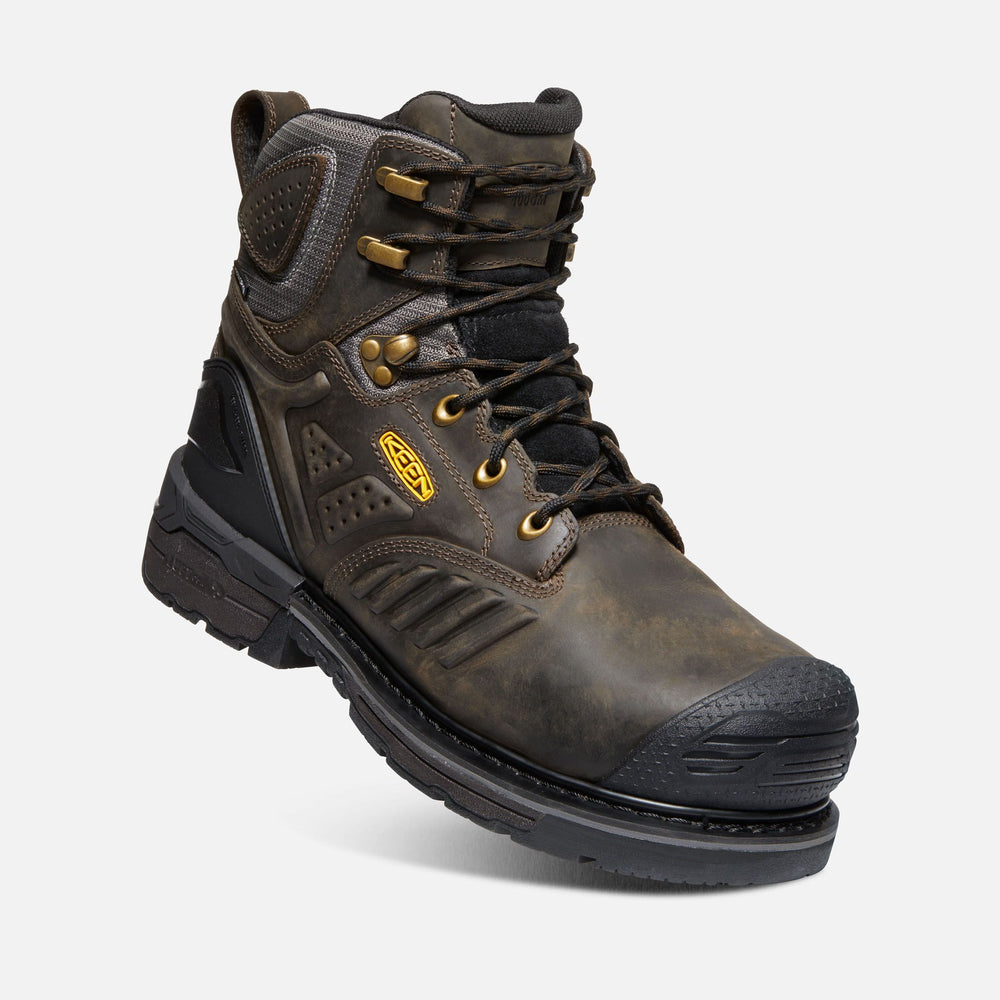 "KEEN PHILADELPHIA 6"" 400G WATERPROOF BOOT (CARBON-FIBER TOE) MEDIUM AND WIDE Boots Keen Work"
