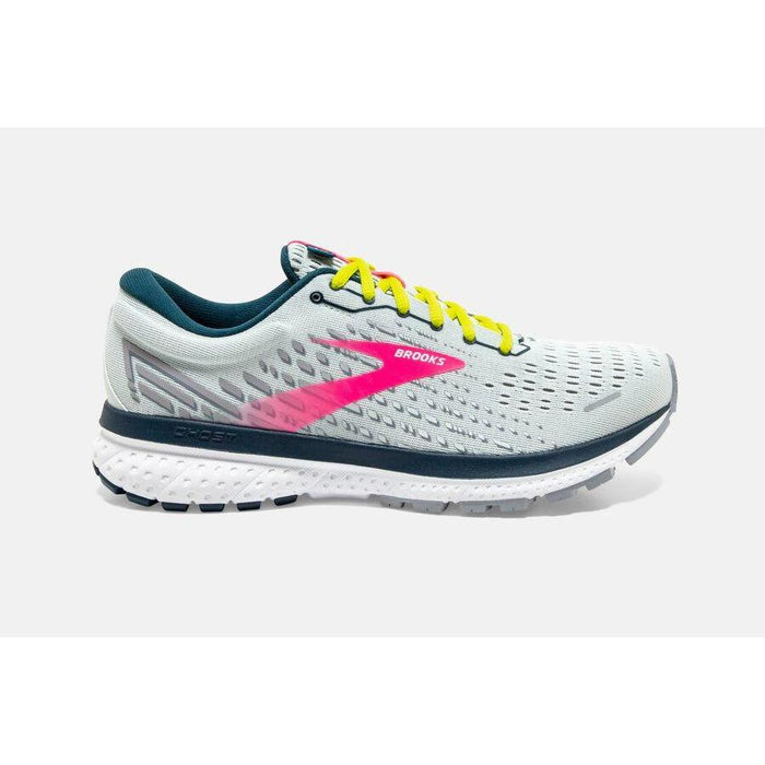 BROOKS GHOST 13 WOMEN'S ICE FLOW/PINK/POND Sneakers & Athletic Shoes Brooks
