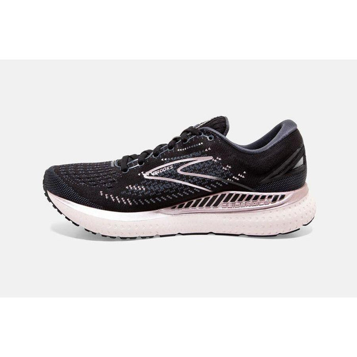 BROOKS GLYCERIN GTS 19 WOMEN'S BLACK/OMBRE/METALLIC MEDIUM AND WIDE Sneakers & Athletic Shoes Brooks