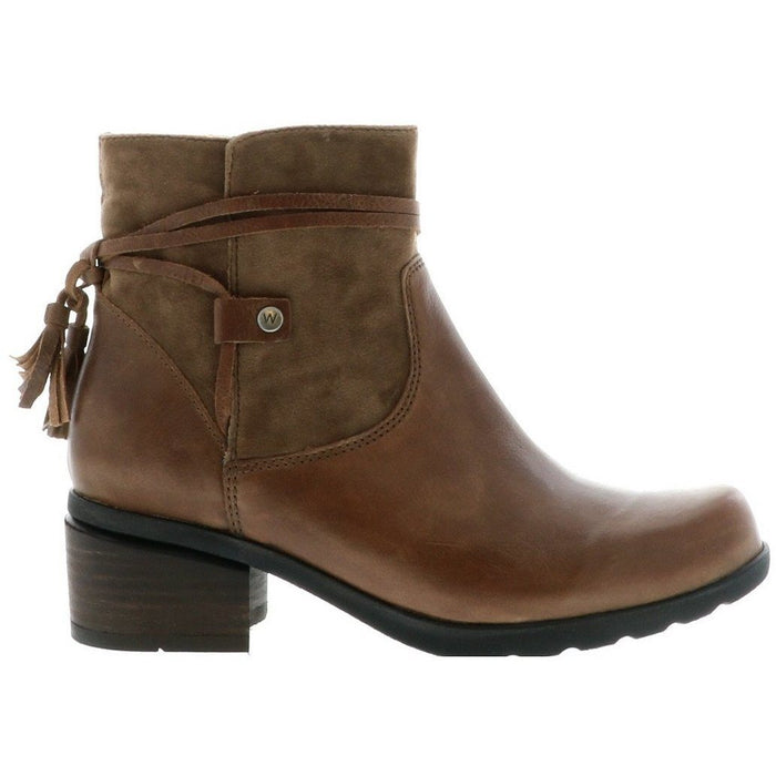 WOLKY IDALIA MID BROWN Boots Wolky
