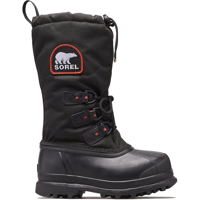 SOREL GLACIER™ XT MEN'S BLACK/RED - danformshoesvt