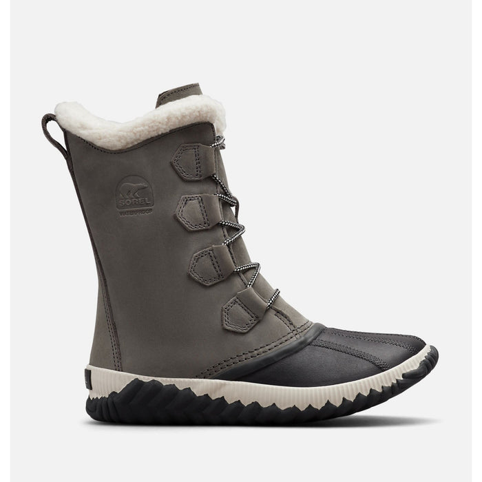 SOREL OUT N ABOUT PLUS TALL QUARRY/COAL - danformshoesvt