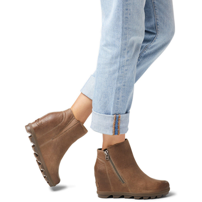 SOREL JOAN OF ARCTIC™ WEDGE II ZIP ASH BROWN - danformshoesvt