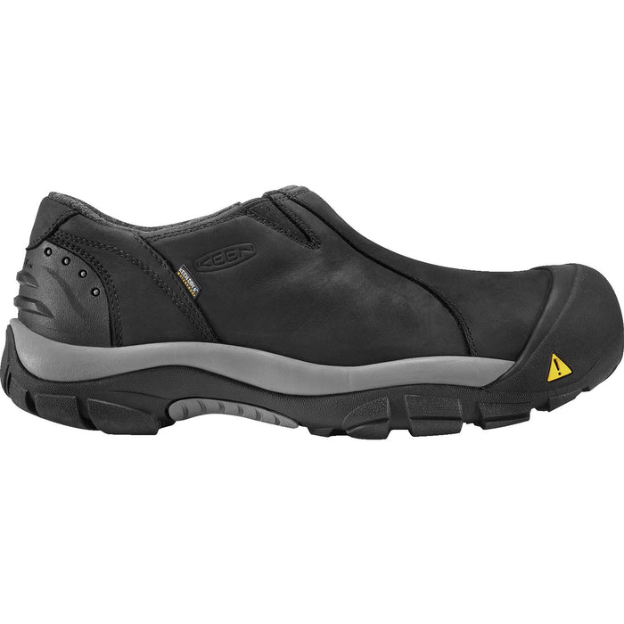 KEEN BRIXEN LOW WP BLACK/GARGOYLE - danformshoesvt