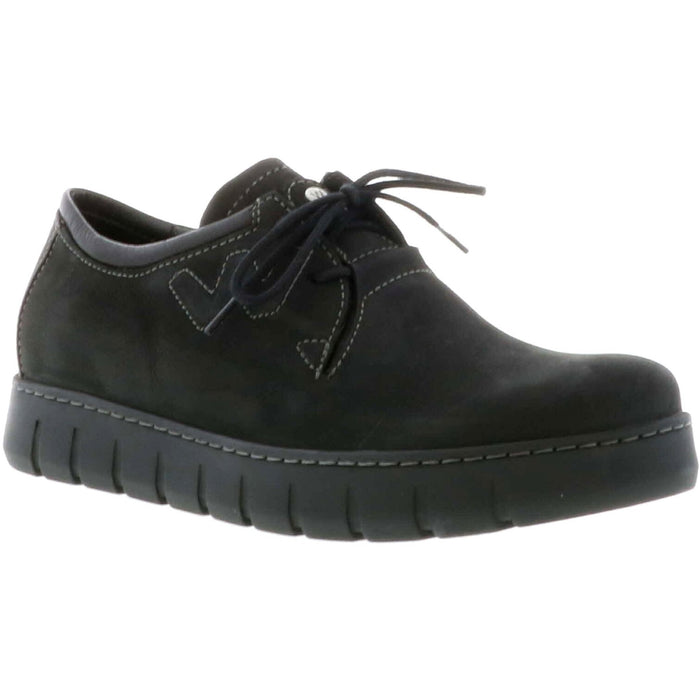 WOLKY TIMBA OXFORD WOMEN'S BLACK f20 Flats Wolky