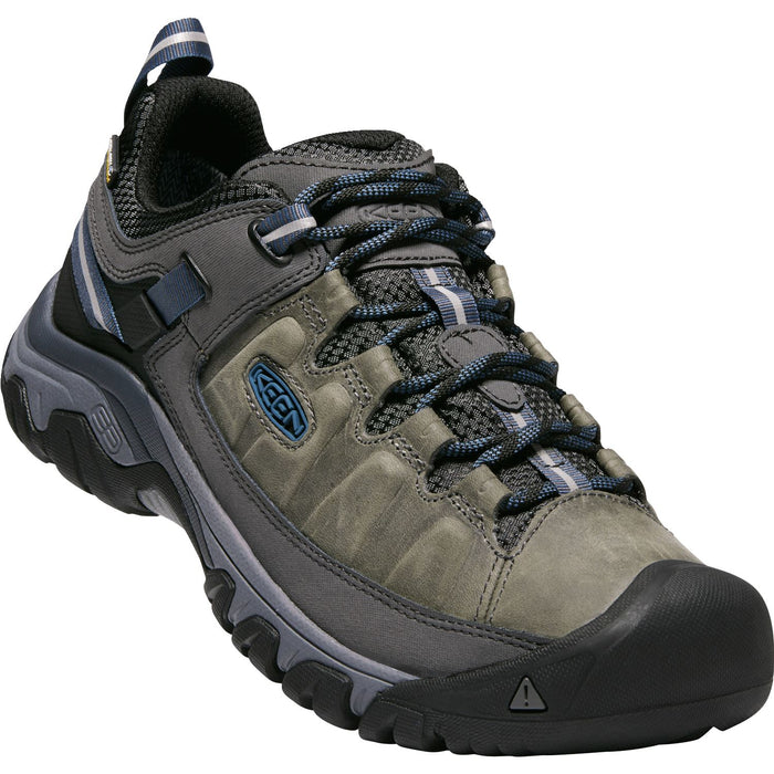 KEEN TARGHEE III WP STEEL GREY/CAPTAIN'S BLUE - danformshoesvt