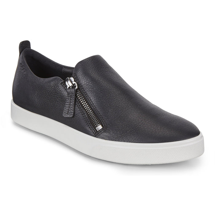 GILLIAN SIDE ZIP BLACK Sneakers & Athletic Shoes Ecco