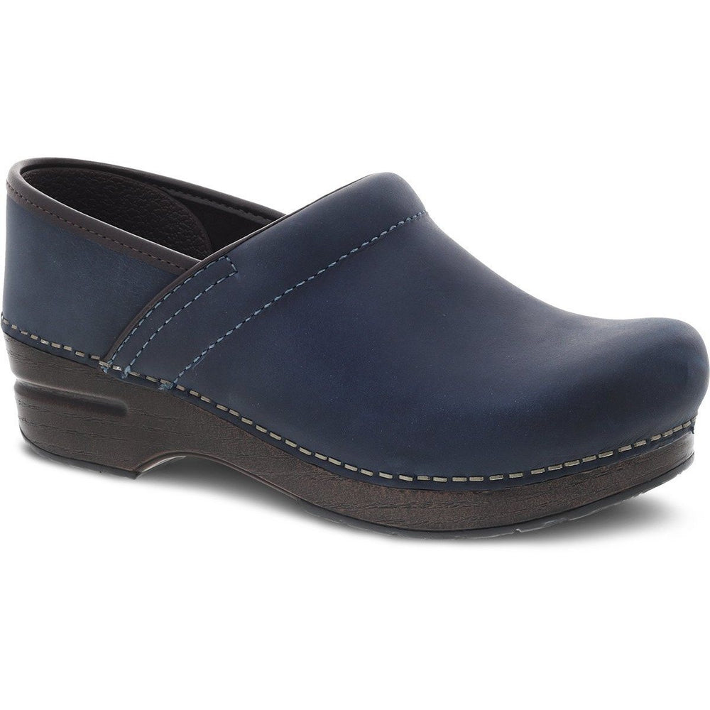 DANSKO PROFESSIONAL BLUE OILED PULL UP Clogs Dansko
