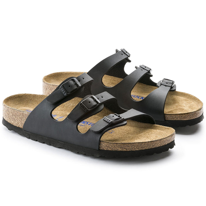 Florida Soft Footbed Black Birko-Flor Women's
