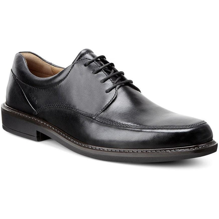 ECCO HOLTON APRON TOE TIE BLACK Shoes Ecco