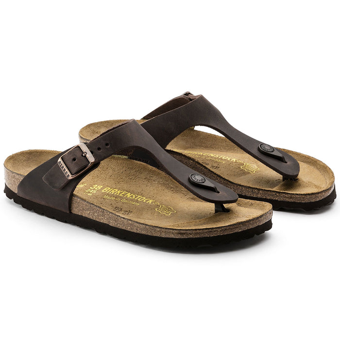 Birkenstock Gizeh Habana Oiled Leather - danformshoesvt