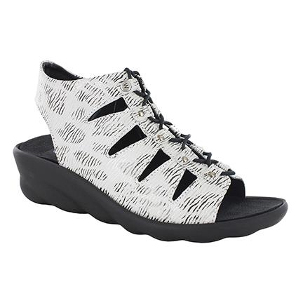 WOLKY ARENA WHITE/BLACK Sandals Wolky