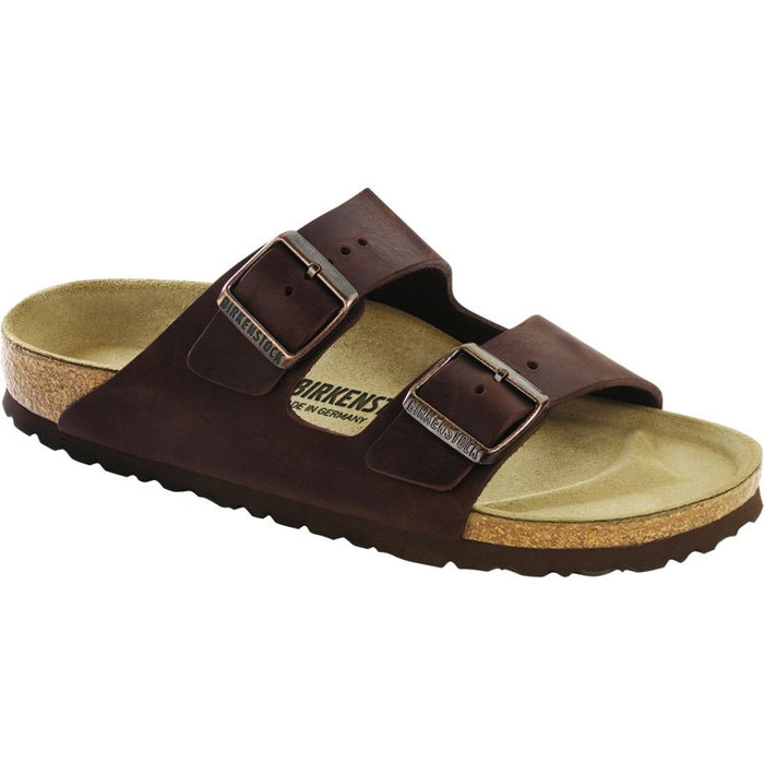 BIRKENSTOCK ARIZONA HABANA OILED LEATHER NARROW UNISEX Sandals Birkenstock