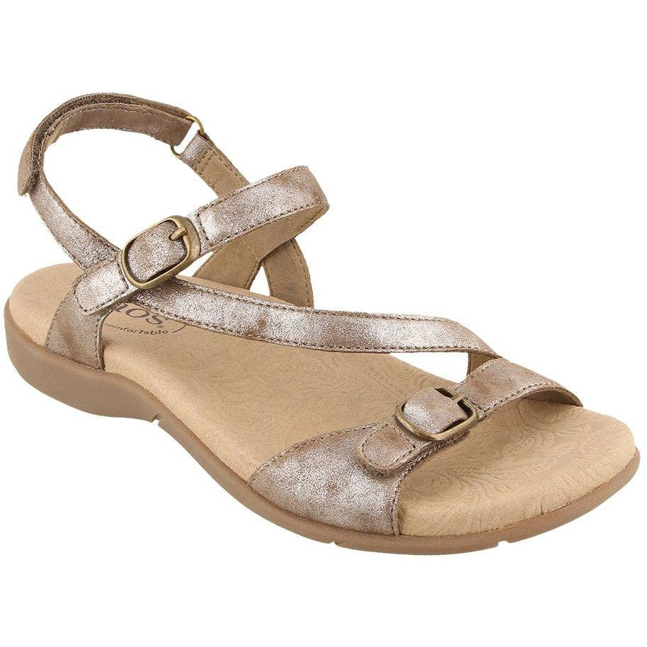 TAOS BEAUTY 2 TAUPE METALLIC - danformshoesvt