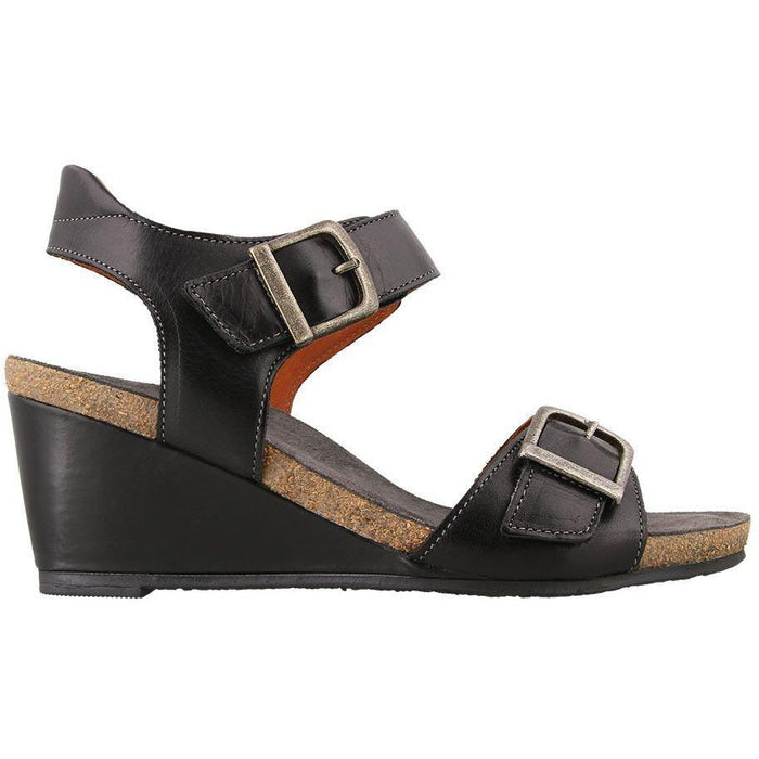 TAOS BUCKLE UP BLACK - danformshoesvt