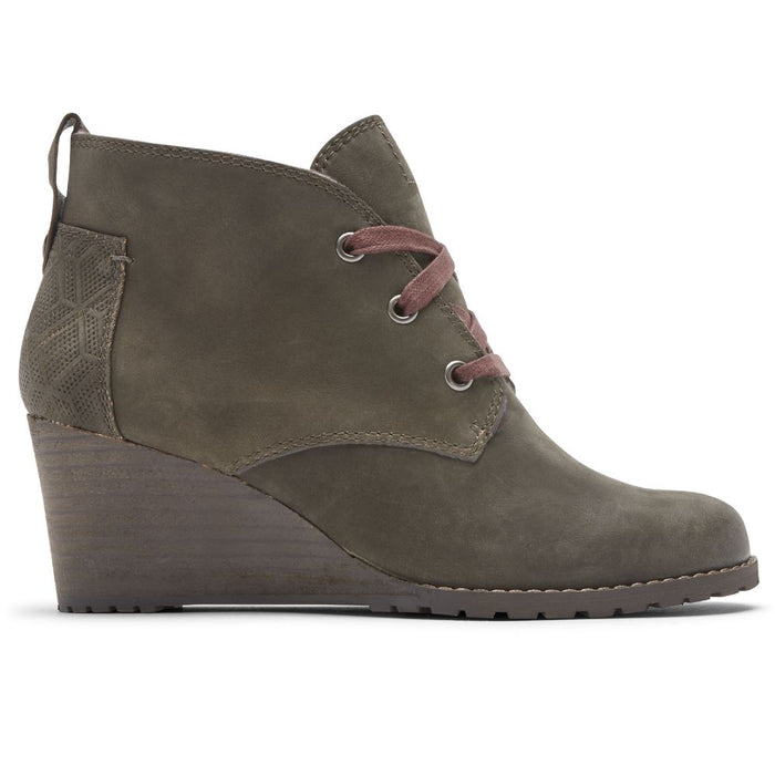 ROCKPORT COBB HILL LUCINDA CHUKKA BOOT - FINAL SALE! Boots Rockport OLIVE 5 M