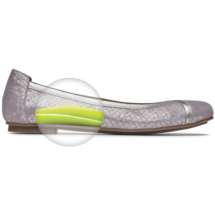 VIONIC CAROLL FLAT PEWTER - FINAL SALE - danformshoesvt