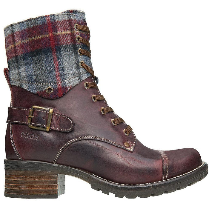 CRAVE BOOT W/PLAID F20 Boots Taos