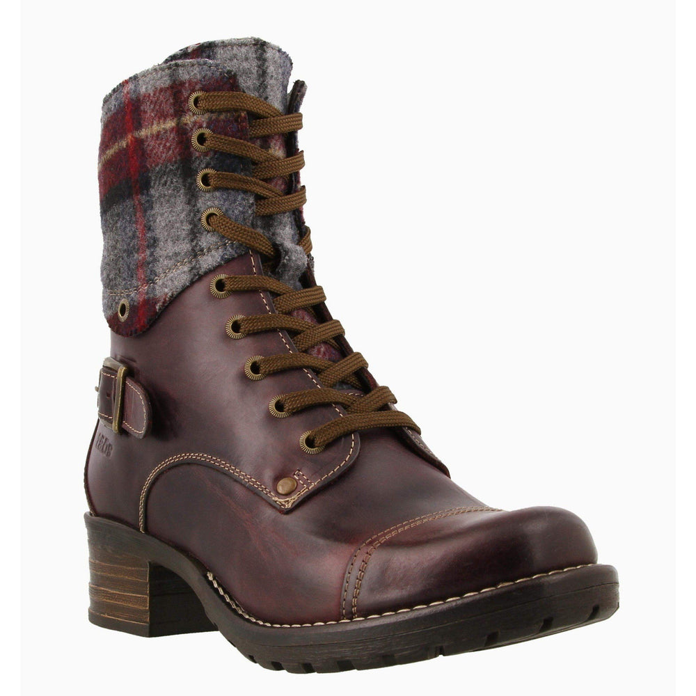 CRAVE BOOT W/PLAID F20 Boots Taos BORD/PLAID 36