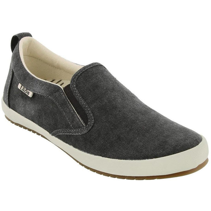 TAOS DANDY CHARCOAL WASHED CANVAS - danformshoesvt