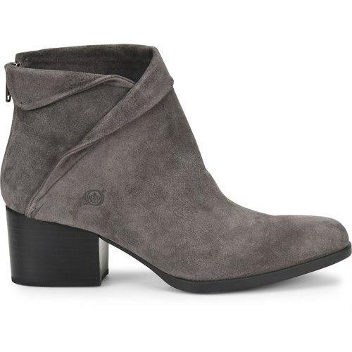 BORN ABBE DARK GREY SUEDE Boots Born