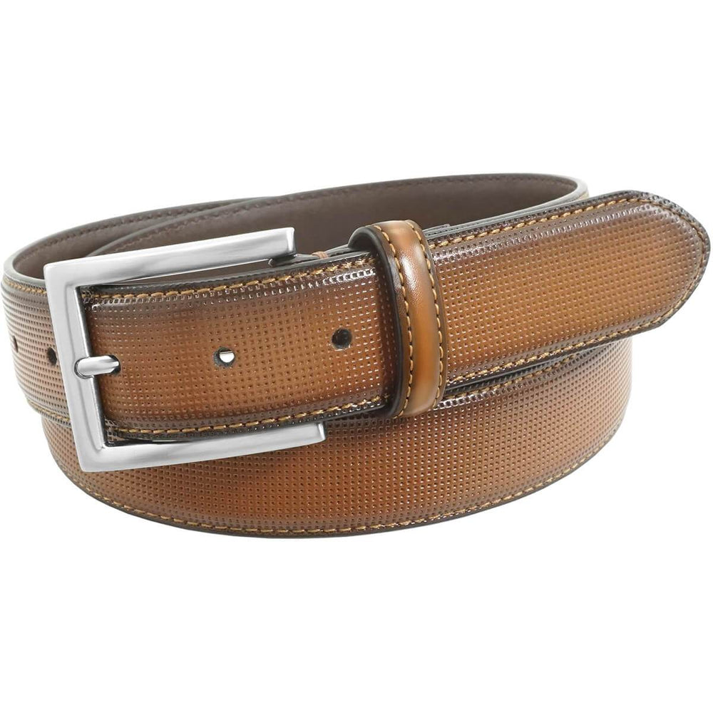 FLORSHEIM SINCLAIR BELT COGNAC Accessories Florsheim