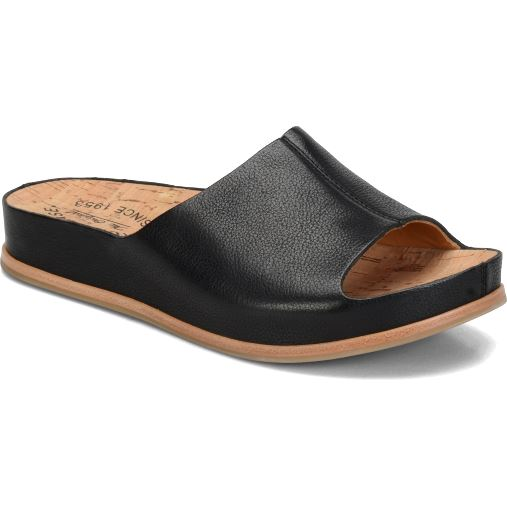 KORK-EASE TUTSI SANDAL BLACK Sandals Kork-Ease