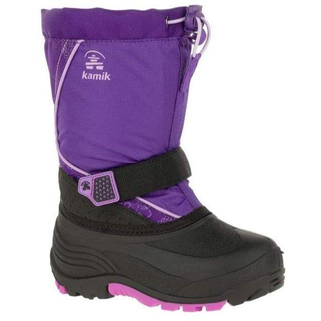 KAMIK SNOWFALL WINTER BOOT KIDS - FINAL SALE! Boots Kamik PURPLE 8