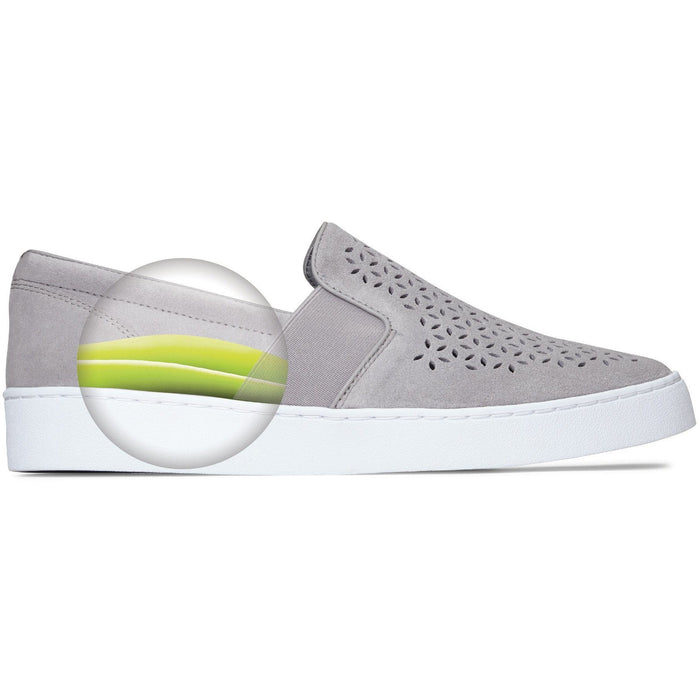 VIONIC KANI SLIP-ON SNEAKER LIGHT GREY - danformshoesvt