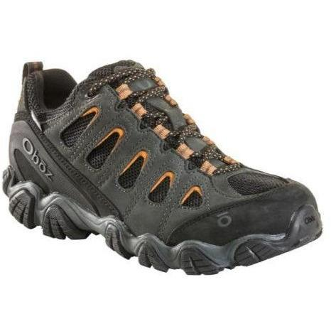 OBOZ SAWTOOTH II LOW WATERPROOF MEN'S SHADOW/BURLAP MEDIUM AND WIDE F20 Boots Oboz